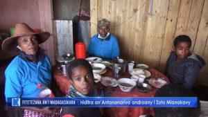 Le tour de Madagascar à pied Zoto et sa famille en 2020