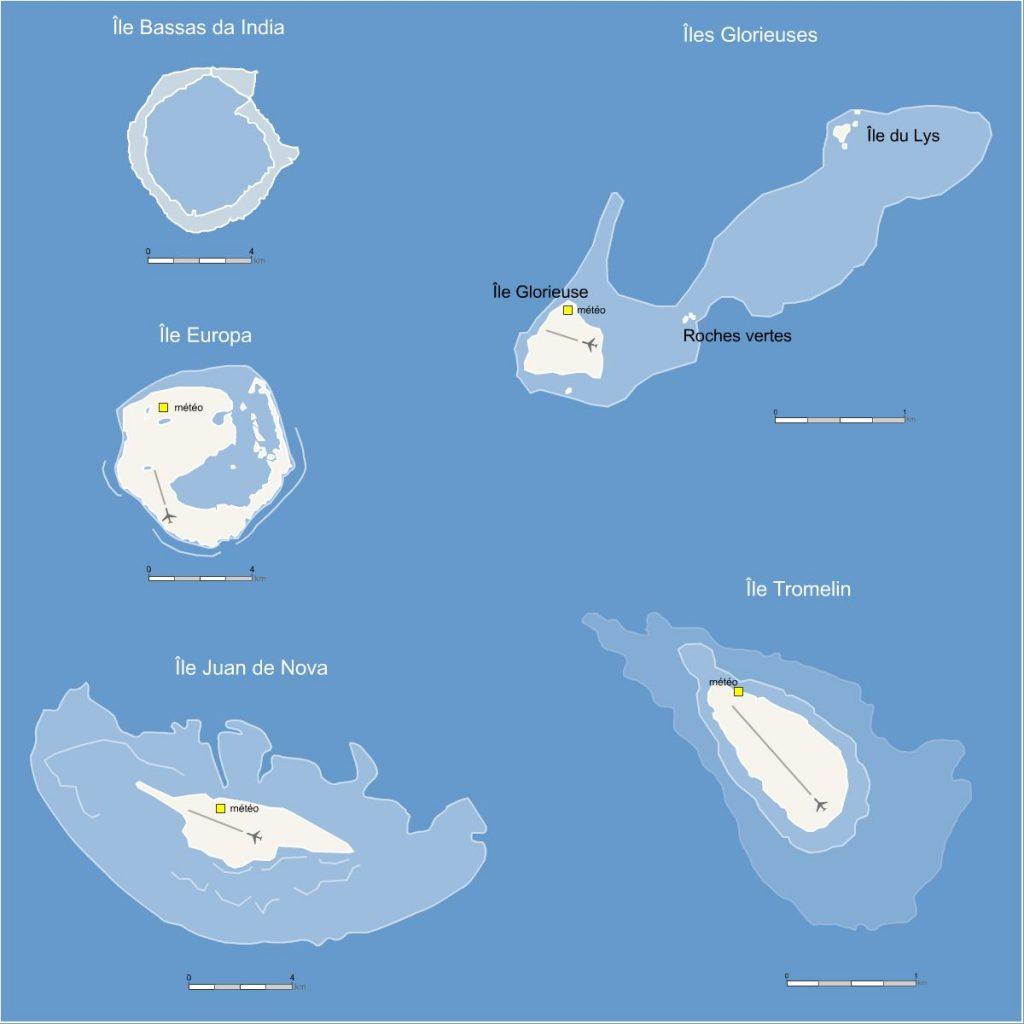 Les Iles éparses
