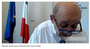 Audition de Jean-Yves Le Drian – Question sur la gestion des îles éparses