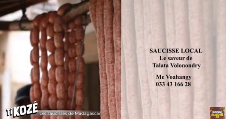 Les Saucisses de MADAGASCAR sur KANAL AUSTRAL.TV