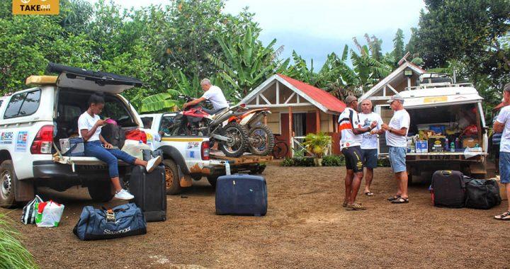 Take Out Kere 2021 Madagascar Club 41 JOUR 8 Farafangana - Vangaindrano: 76km